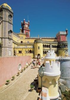 """Dubbed a """"glorious Eden"""" by romantic poet Lord Byron, the town of Sintra, Portugal, has long been celebrated as an escape from reality. The Royal Family of Portugal used the majestic hillside ..."""