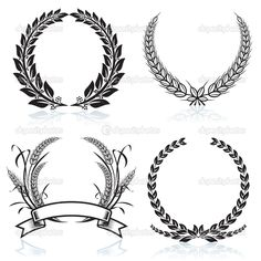 laurel crown- Google Search