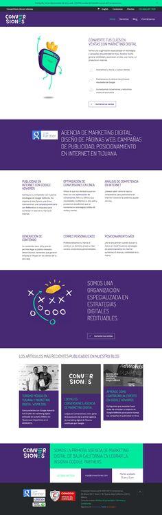 Agencia de Marketing Digital en Tijuana, México, que ofrece Diseño de Páginas Web, Campañas de Publicidad en Internet, SEO Posicionamiento Web y Optimización de Conversiones.