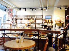 Cafeteria e chocolateria só de produtos orgânicos no Centro de Bruxelas