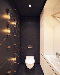 Modern Bathroom Inspiration NOV 2017 #home #living #interior #design #interiordesign