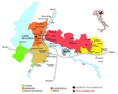 Villabella - Vigneti in Verona - Mappa nostri Vigneti