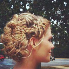 Wedding Hairstyle Updos Long Blonde Hair