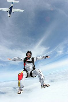 skydive Bungee Jumping, Base Jumping, Action Pose Reference, Action Poses, Skydiving Videos, Sports Fails, Action Photography, Paragliding, Parkour