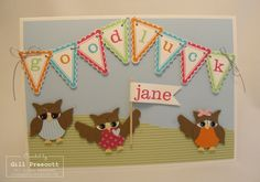 Stampin Up - owl punch