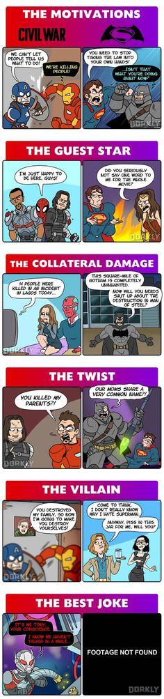 Batman V Superman vs Captain America: Civil War - Imgur
