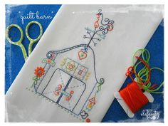 The Stitchery Club - one of the pdf patterns for June!