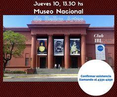 ¡Hoy visitamos el Museo Nacional de Bellas Artes!