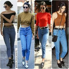 High Waisted Jeans OOTD ideas from#KendallJenner#harrystyles #jeans #denim #flats #shorts #jeans #KimKardashian #GigiHadid #bff ##black #fashion #blogger #party #croptop #cool #skinnyjeans #accessories #cool #fall #instablog #rippedjeans #fashionblogger #leather #boots #beauty #makeup #igers #inspo... - Celebrity Fashion