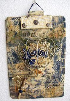 art with gelli printing