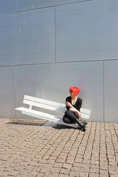 """Jeppe Hein """"Modified Social Benches"""""""