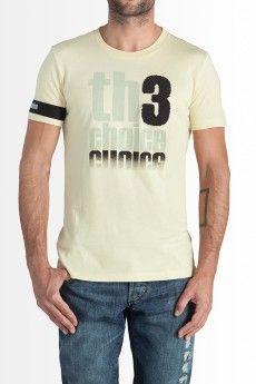 Camiseta Th3 Choice Logo Towel amarilla  59.90€