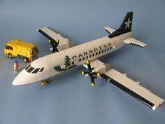Lego Plane, City Airport, Lego Fire, Lego Builder, Lego Design, Custom Lego, Lego Moc, Childhood Toys, Lego Creations