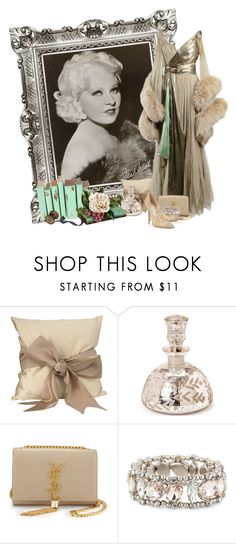 """""""Mae West"""" by flowerchild805 on Polyvore featuring mae, House of Fraser, Yves Saint Laurent, Matthew Williamson and Jimmy Choo"""