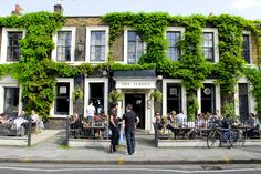 Pub at the end of the terrace where I was born!  The Albion, Islington
