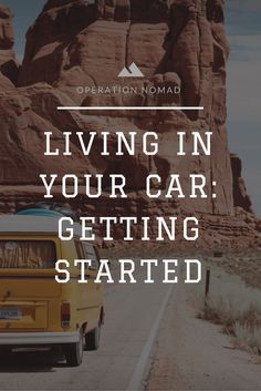 Did you prepare for living in your car? Here's the quick rundown of everything you need to consider, from parking to hygiene.