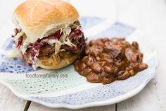 Homemade South Carolina Style Mustard Barbecue Sauce via FoodforMyFamily.com