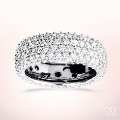 "Beauty: ""Micara"" diamond ring with 216 brilliants #yorxs #diamantring #brillanten"