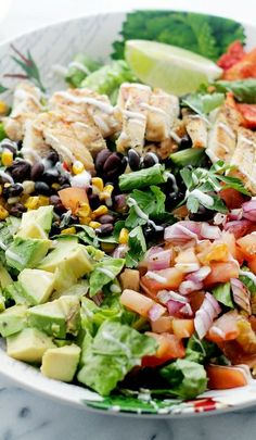 Tex-Mex Margarita Chicken Salad
