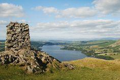 Hallin Fell summit - the cairn
