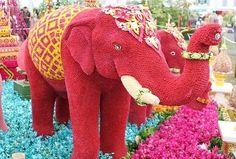 Elephant of Flowers