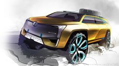 VOLKSWAGEN SUV on Behance