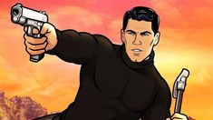 Archer , Season 11 Danger Zone, Archer, Seasons, Cartoon Cartoon, Profile Pictures, Anime, Fictional Characters, Illustrations, Sterling Archer