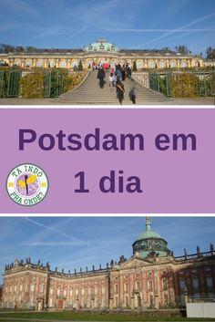 Roteiro para conhecer Potsdam em 1 dia, saindo de Berlim. Palácio e Jardins Sanssouci, Neues Palais.