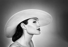 Angelina Jolie by Marc Hom #photography #inspiration #portraits #faces