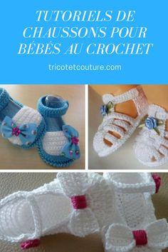 Tutoriels de Chaussons pour Bébés au Crochet