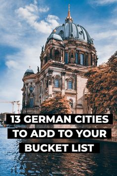 The 13 Best Cities to Visit in Germany - 13 German Cities to add to your bucket list. The 13 Best Cities to Visit in Germany. Germany is a c - Cities In Germany, Germany Travel, Germany Europe, Europe Europe, Travel Europe, Solo Travel, Visit Egypt, Nightlife Travel, Travel Aesthetic