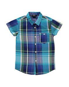 Check Shirt #GeorgeSummer