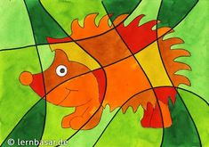 fall art projects for kids Igel im Herbst Fall Art Projects, Projects For Kids, Autumn Art, Autumn Trees, Mandala Halloween, Marque Page Origami, Halloween Crafts For Kids, Leaf Art, Science And Nature