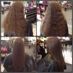 So what exactly is Japanese hair straightening? So what exactly is Japanese hair straightening? Permed Hairstyles, Modern Hairstyles, Straight Hairstyles, Cornrows With Box Braids, Twist Cornrows, Japanese Hair Straightening, Afro, Hair Brush Straightener, Air Dry Hair