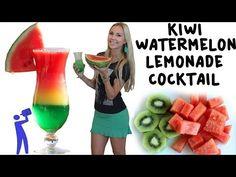 Watermelon Long Island Tea - TipsyBartender.com