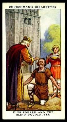 Cigarette Card - King Edward the Confessor