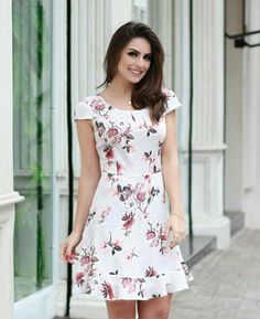 Trendy dress skirt outfits classy blouses Trendy dress skirt outfits classy blouses SEE DETAILS. Dresses For Teens, Trendy Dresses, Cute Dresses, Casual Dresses, Fashion Dresses, Short Sleeve Dresses, Summer Dresses, Blouse Dress, Dress Skirt