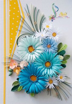 Neli is a talented quilling artist from Bulgaria. Her unique quilling cards bring joy to people around the world. Neli Quilling, Paper Quilling Cards, Quilling Work, Paper Quilling Flowers, Paper Flowers Craft, Paper Quilling Designs, Quilling Patterns, Paper Crafts, Diy Crafts