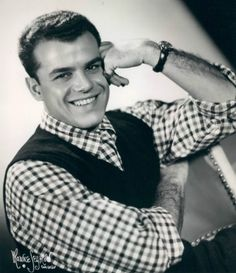 Julius La Rosa from The Arthur Godfrey Show, my sister had a huge crush on him in the 1950's; he had a beautiful singing voice
