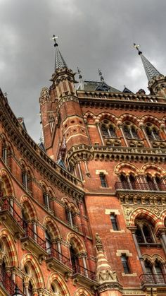 St. Pancras railway station, London, England
