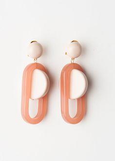 Rachel Comey Lohr Pink Earrings – The Frankie Shop