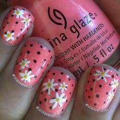 lalalovenailart #nail #nails #nailart I hate China glaze but will do this with Sinful from walgreens.