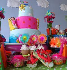 Festa Infantil - Piscina da Catharina http://www.suelicoelho.com.br/2015/01/festa-infantil-piscina-da-catharina.html Pool Party