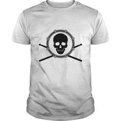 (New Tshirt Choose) SKULL DRUM [TShirt 2016] Hoodies, Funny Tee Shirts