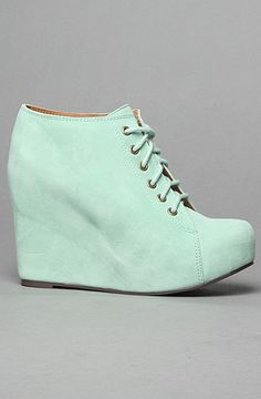 Don't step on my mint suede Jeffrey Campbell shoes! #mint