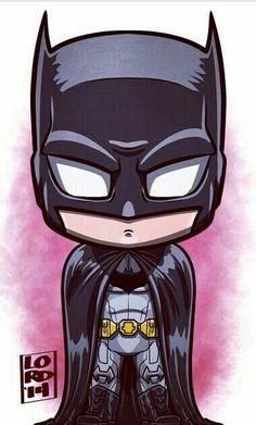 Chibi batman by lordmesa Batman Drawing, Batman Artwork, Marvel Drawings, Batman Wallpaper, Cartoon Kunst, Comic Kunst, Cartoon Art, Comic Art, Comic Book