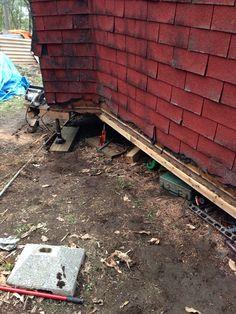 土台修繕開始