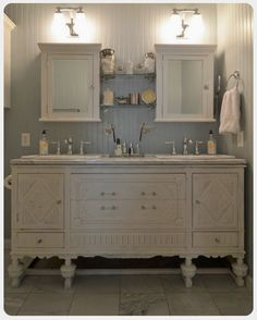 Vintage Vanity Conversions, Custom For You -- Contact Us