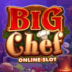 Big Chef Online Slot launches at Euro Palace Casino in May 2015 - visit www.europalace-casino.com for more details Text Design, Logo Design, Game Font, Game Concept, Game Dev, Text Style, Text Effects, Modern Logo, Cool Logo