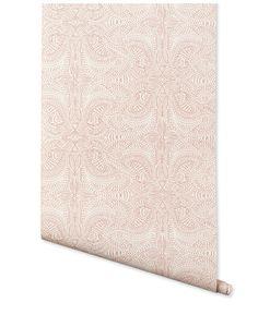 Removable wallpaper tiles